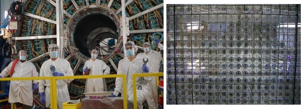 Zmodernizowane detektory TPC i PHOS